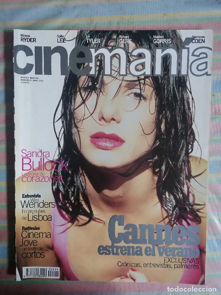 CINEMANIA Nº 9 JUNIO 1995 (Cine - Revistas - Cinemanía)