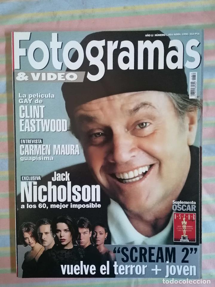FOTOGRAMAS 1854 ABRIL 1998 (Cine - Revistas - Fotogramas)