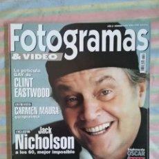 Cine: FOTOGRAMAS 1854 ABRIL 1998. Lote 277624333