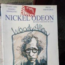 Cinema: REVISTA TRIMESTRAL DE CINE NICKEL ODEON Nº 28 - OTOÑO 2002. WOODY ALLEN. Lote 263935700
