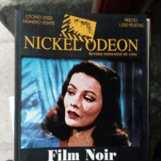 Cinema: REVISTA TRIMESTRAL DE CINE NICKEL ODEON Nº 20 - OTOÑO 2000. FILM NOIR. Lote 263936450