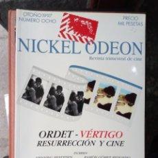 Cine: REVISTA TRIMESTRAL DE CINE NICKEL ODEON Nº 8 - OTOÑO 1997. ORDET - VÉRTIGO. RESURRECIÓN Y CINE. Lote 263936670