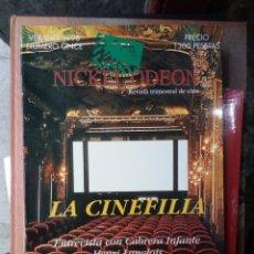 Cine: REVISTA TRIMESTRAL DE CINE NICKEL ODEON Nº 11 - VERANO 1998. LA CINEFILIA. Lote 263937270