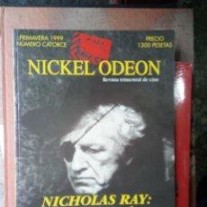 Cine: REVISTA TRIMESTRAL DE CINE NICKEL ODEON Nº 14 - PRIMAVERA 1999. NICHOLAS RAY: EL AMIGO AMERICANO. Lote 263937470