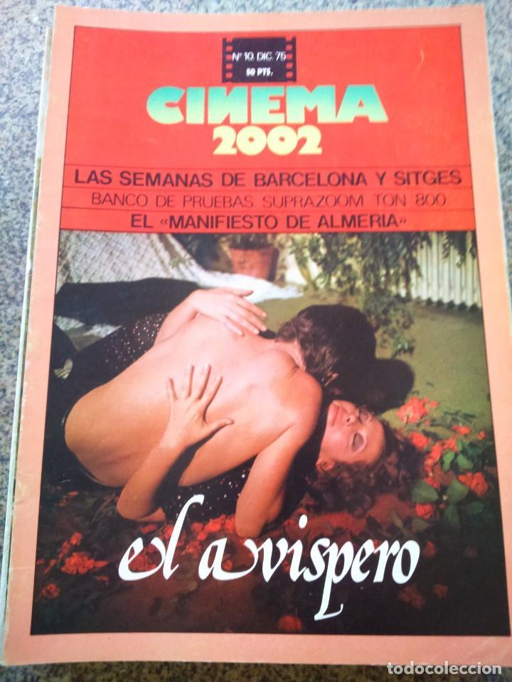 REVISTA -- CINEMA 2002 -- Nº 10 - 1975 -- EL AVISPERO -- (Cine - Revistas - Cinema)