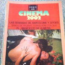 Cine: REVISTA -- CINEMA 2002 -- Nº 10 - 1975 -- EL AVISPERO --. Lote 264184676
