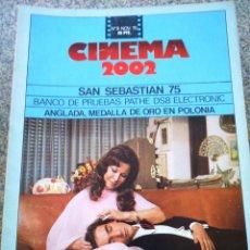 Cine: REVISTA -- CINEMA 2002 -- Nº 9 - 1975 -- LOS PASAJEROS --. Lote 264184732
