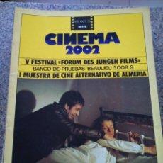 Cine: REVISTA -- CINEMA 2002 -- Nº 8 - 1975 -- FURTIVOS --. Lote 264184776