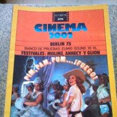 Cine: REVISTA -- CINEMA 2002 -- Nº 7 - 1975 -- PIM, PAM ,PUM FUEGO --. Lote 264184824