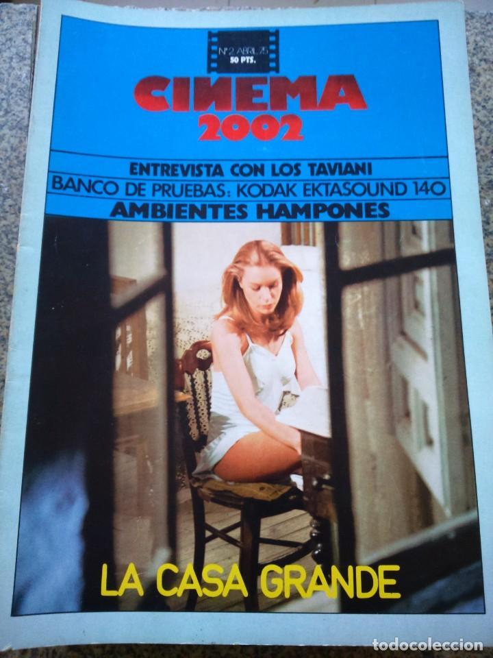 REVISTA -- CINEMA 2002 -- Nº 2 - 1975 -- LA CASA GRANDE -- (Cine - Revistas - Cinema)