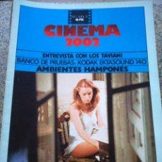 Cine: REVISTA -- CINEMA 2002 -- Nº 2 - 1975 -- LA CASA GRANDE --. Lote 264184948