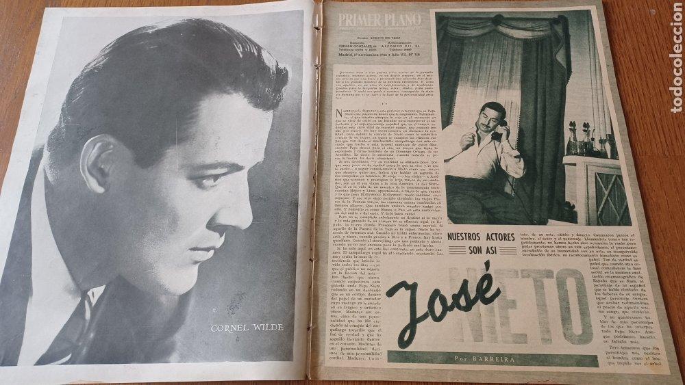 Cine: REVISTA PRIMER PLANO N° 318 . AÑO 1946. CAROLE LANDIS .- - Foto 2 - 264787499