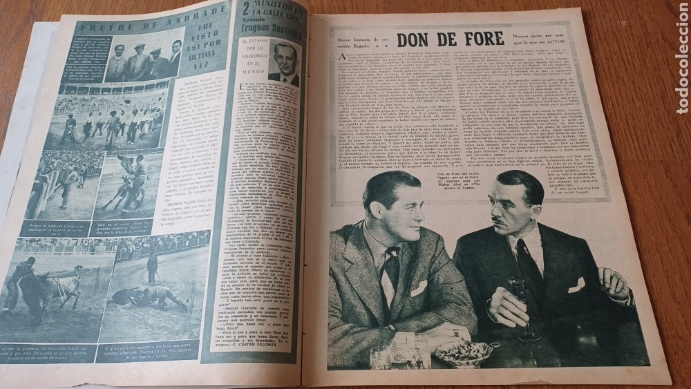 Cine: REVISTA PRIMER PLANO N° 318 . AÑO 1946. CAROLE LANDIS .- - Foto 3 - 264787499