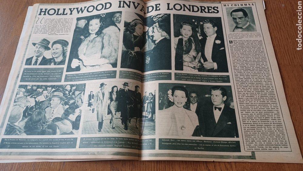 Cine: REVISTA PRIMER PLANO N° 318 . AÑO 1946. CAROLE LANDIS .- - Foto 8 - 264787499
