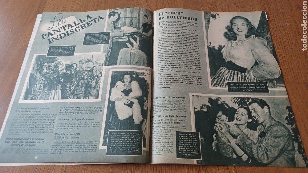 Cine: REVISTA PRIMER PLANO N° 318 . AÑO 1946. CAROLE LANDIS .- - Foto 9 - 264787499