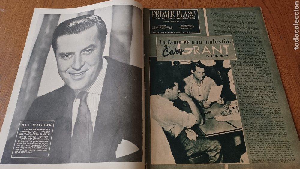 Cine: REVISTA PRIMER PLANO N°317 .AÑO 1946.JOAN CRAWFORD. - Foto 2 - 264793814