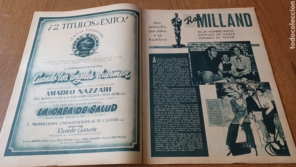 Cine: REVISTA PRIMER PLANO N°317 .AÑO 1946.JOAN CRAWFORD. - Foto 4 - 264793814