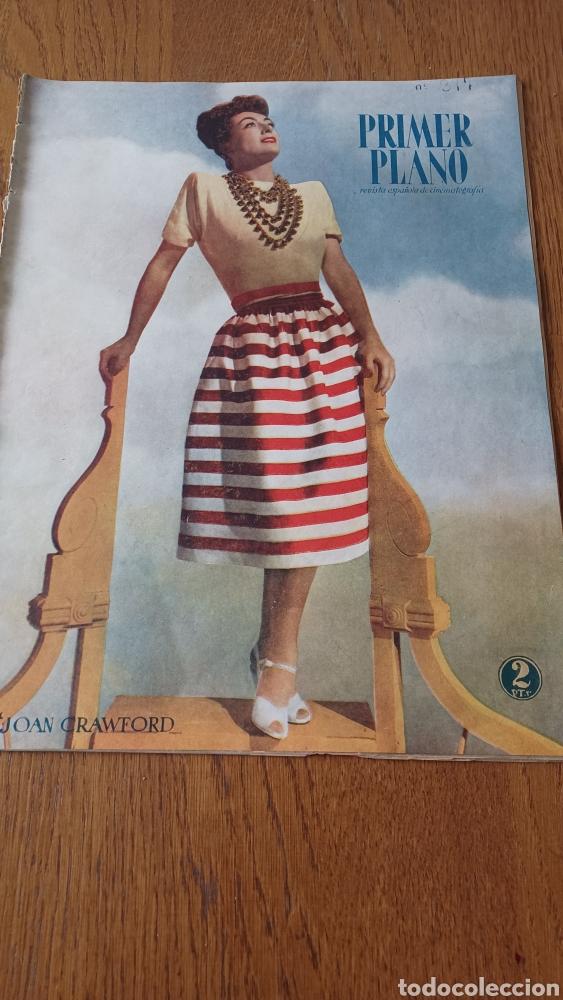 REVISTA PRIMER PLANO N°317 .AÑO 1946.JOAN CRAWFORD. (Cine - Revistas - Primer plano)