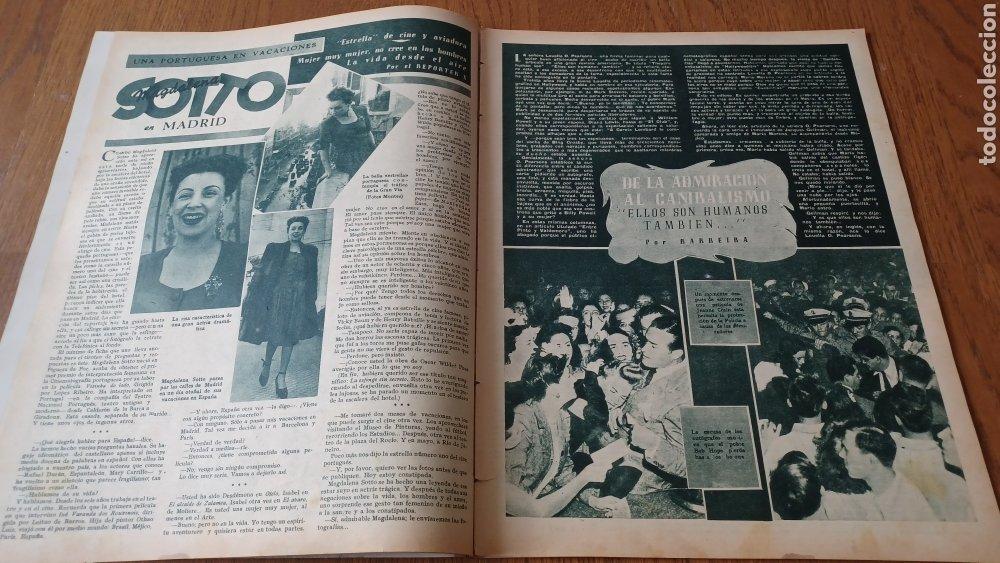 Cine: REVISTA PRIMER PLANO N° 316. AÑO 1946 . FAYE MARLOWE. - Foto 4 - 264795069