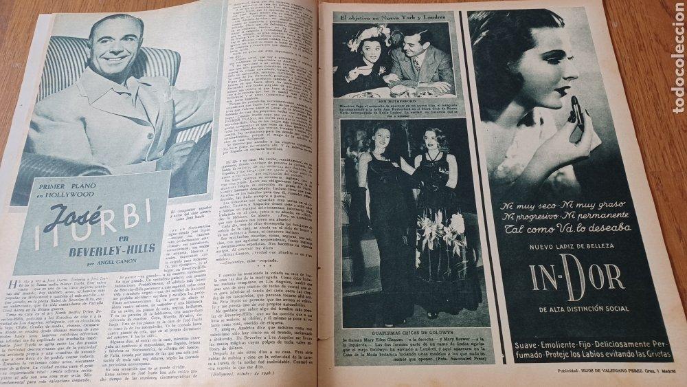 Cine: REVISTA PRIMER PLANO N° 316. AÑO 1946 . FAYE MARLOWE. - Foto 5 - 264795069