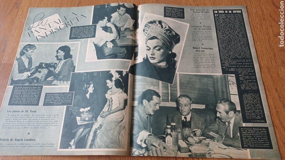 Cine: REVISTA PRIMER PLANO N°314. AÑO 1946 .JEAN ROGER. - Foto 10 - 264796074