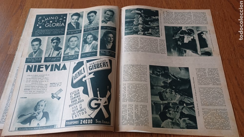 Cine: REVISTA PRIMER PLANO N°314. AÑO 1946 .JEAN ROGER. - Foto 13 - 264796074