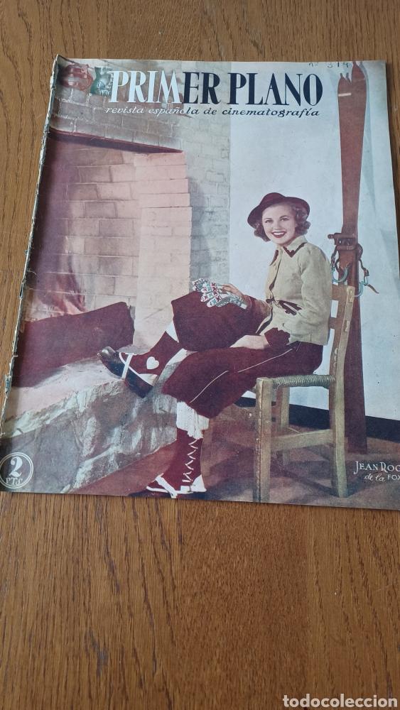 REVISTA PRIMER PLANO N°314. AÑO 1946 .JEAN ROGER. (Cine - Revistas - Primer plano)