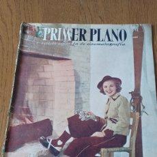 Cine: REVISTA PRIMER PLANO N°314. AÑO 1946 .JEAN ROGER.. Lote 264796074