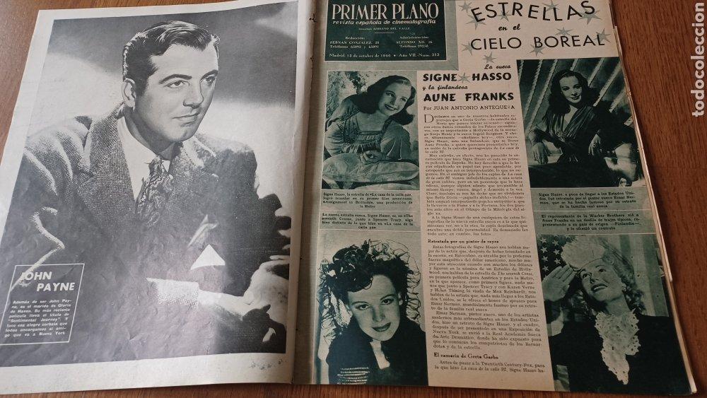 Cine: REVISTA PRIMER PLANO N° 313 .AÑO 1946 .ELLA RAINES - Foto 2 - 264799599