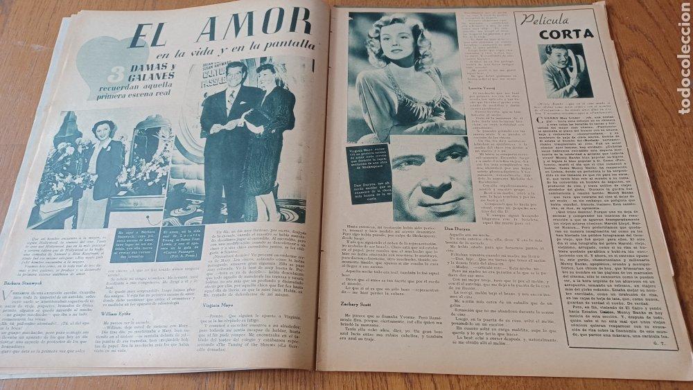 Cine: REVISTA PRIMER PLANO N° 313 .AÑO 1946 .ELLA RAINES - Foto 5 - 264799599