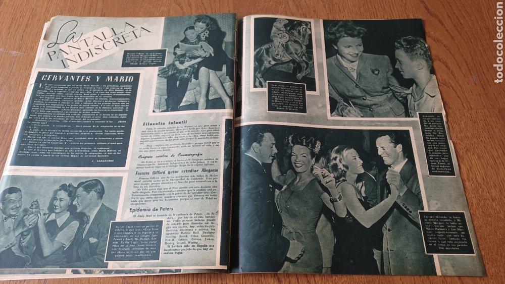Cine: REVISTA PRIMER PLANO N° 313 .AÑO 1946 .ELLA RAINES - Foto 9 - 264799599