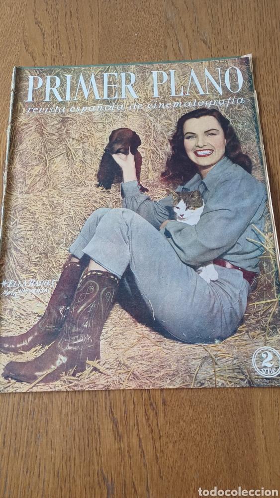REVISTA PRIMER PLANO N° 313 .AÑO 1946 .ELLA RAINES (Cine - Revistas - Primer plano)