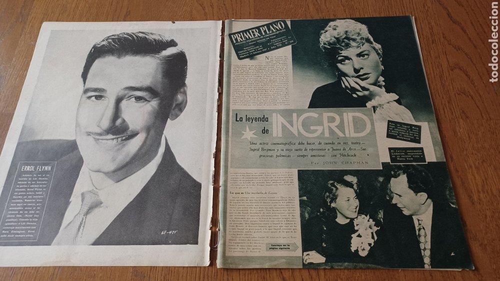 Cine: REVISTA PRIMER PLANO N °332 . AÑO 1946 .LOS TRES CABALLEROS. DE WALT DISNEY - Foto 2 - 264801524
