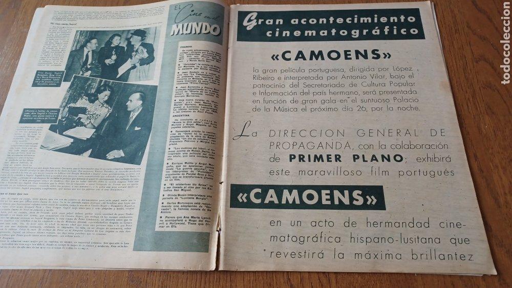 Cine: REVISTA PRIMER PLANO N °332 . AÑO 1946 .LOS TRES CABALLEROS. DE WALT DISNEY - Foto 3 - 264801524