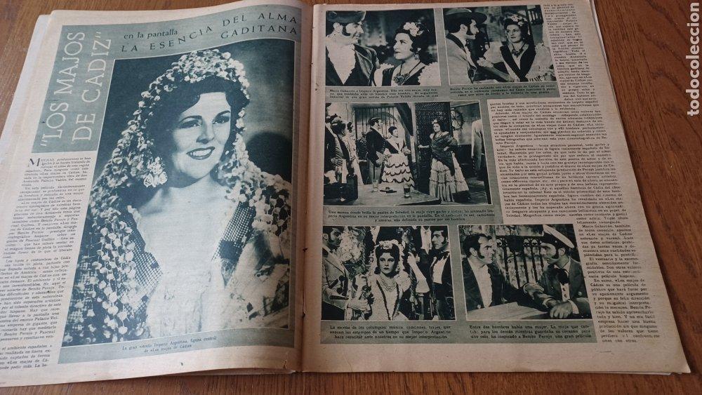 Cine: REVISTA PRIMER PLANO N °332 . AÑO 1946 .LOS TRES CABALLEROS. DE WALT DISNEY - Foto 4 - 264801524
