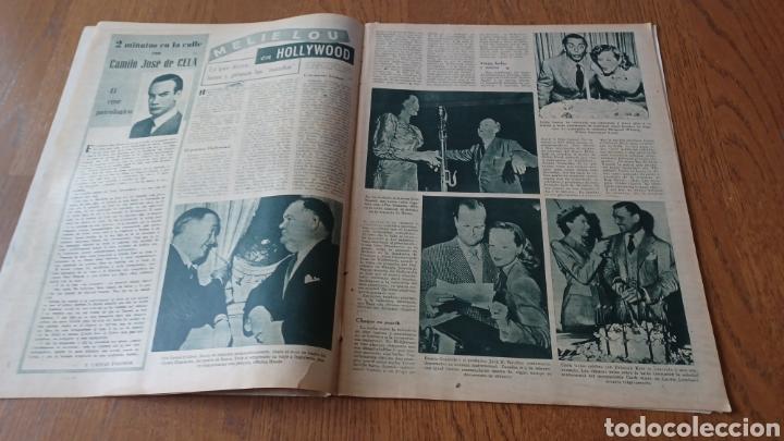Cine: REVISTA PRIMER PLANO N °332 . AÑO 1946 .LOS TRES CABALLEROS. DE WALT DISNEY - Foto 5 - 264801524