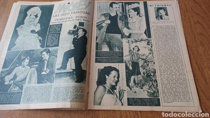 Cine: REVISTA PRIMER PLANO N °332 . AÑO 1946 .LOS TRES CABALLEROS. DE WALT DISNEY - Foto 6 - 264801524