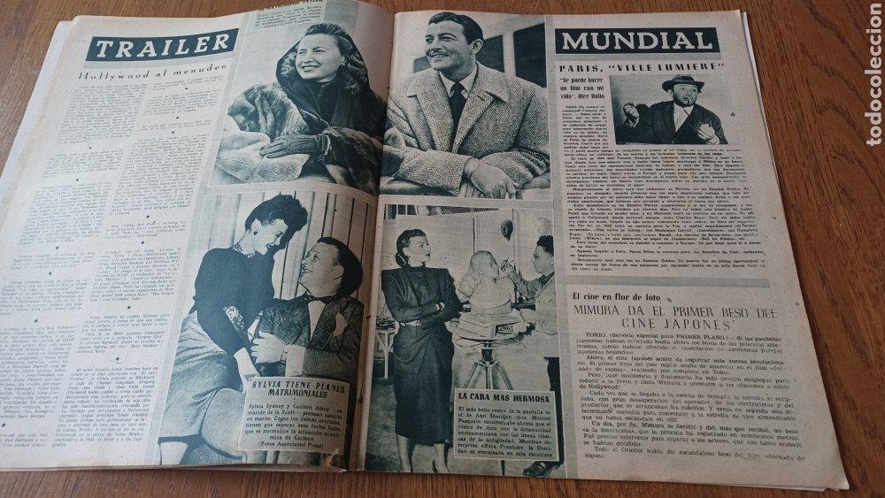 Cine: REVISTA PRIMER PLANO N °332 . AÑO 1946 .LOS TRES CABALLEROS. DE WALT DISNEY - Foto 7 - 264801524