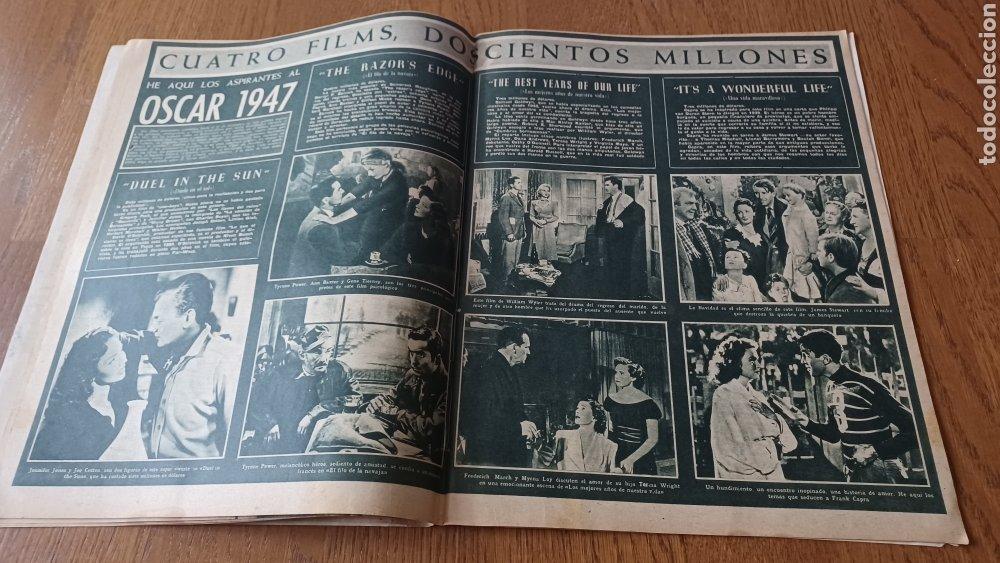 Cine: REVISTA PRIMER PLANO N °332 . AÑO 1946 .LOS TRES CABALLEROS. DE WALT DISNEY - Foto 8 - 264801524