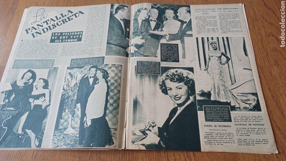 Cine: REVISTA PRIMER PLANO N °332 . AÑO 1946 .LOS TRES CABALLEROS. DE WALT DISNEY - Foto 9 - 264801524