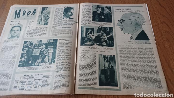 Cine: REVISTA PRIMER PLANO N °332 . AÑO 1946 .LOS TRES CABALLEROS. DE WALT DISNEY - Foto 10 - 264801524