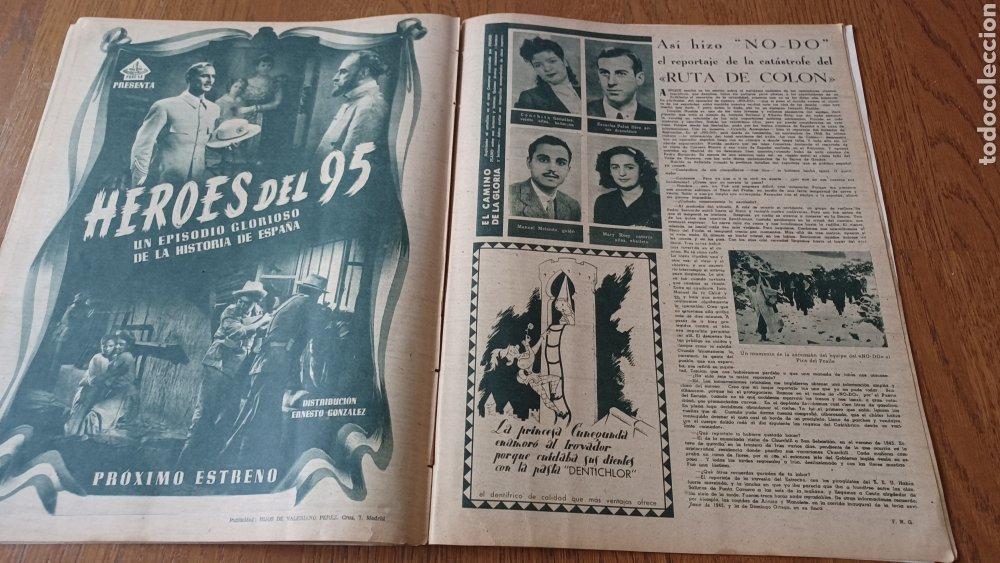 Cine: REVISTA PRIMER PLANO N °332 . AÑO 1946 .LOS TRES CABALLEROS. DE WALT DISNEY - Foto 11 - 264801524