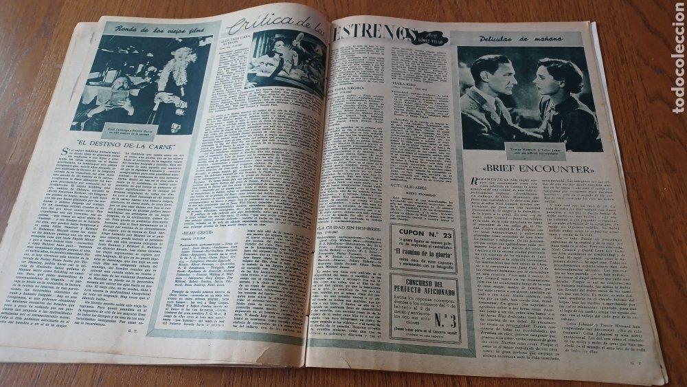 Cine: REVISTA PRIMER PLANO N °332 . AÑO 1946 .LOS TRES CABALLEROS. DE WALT DISNEY - Foto 12 - 264801524