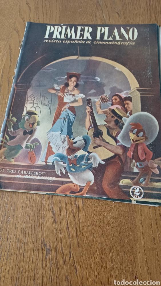 REVISTA PRIMER PLANO N °332 . AÑO 1946 .LOS TRES CABALLEROS. DE WALT DISNEY (Cine - Revistas - Primer plano)