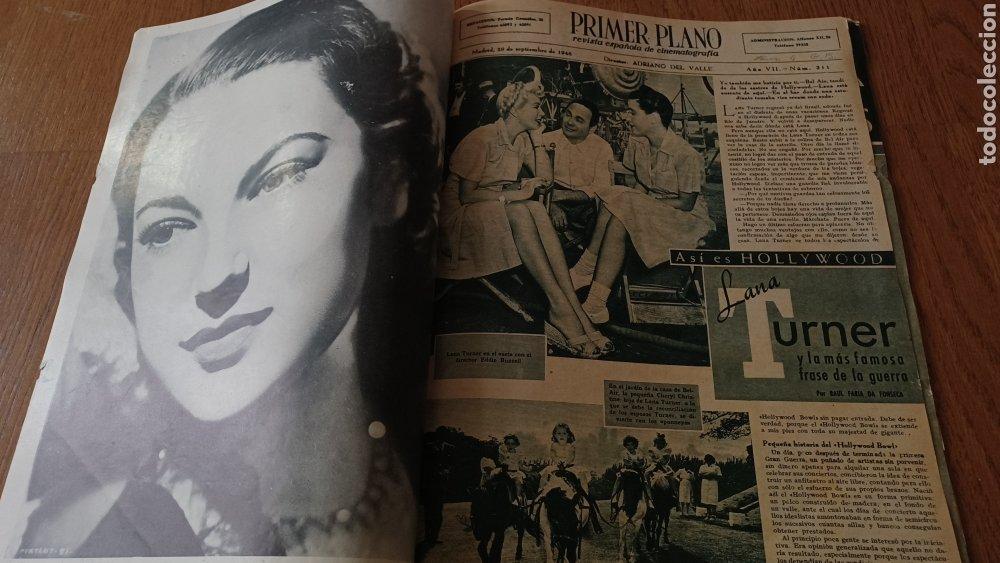 Cine: REVISTA PRIMER PLANO N° 311. AÑO 1946 .MYRNA LOY. - Foto 2 - 264803454