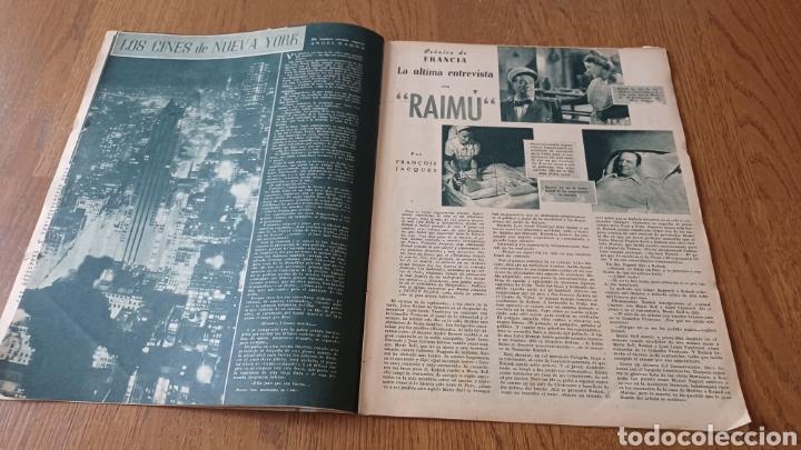 Cine: REVISTA PRIMER PLANO N° 311. AÑO 1946 .MYRNA LOY. - Foto 5 - 264803454