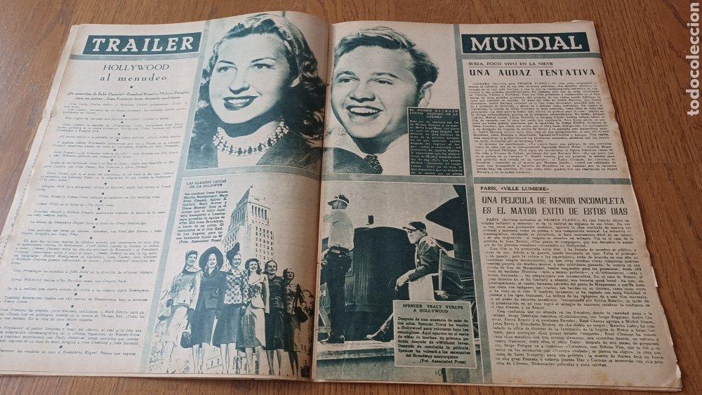 Cine: REVISTA PRIMER PLANO N° 311. AÑO 1946 .MYRNA LOY. - Foto 7 - 264803454