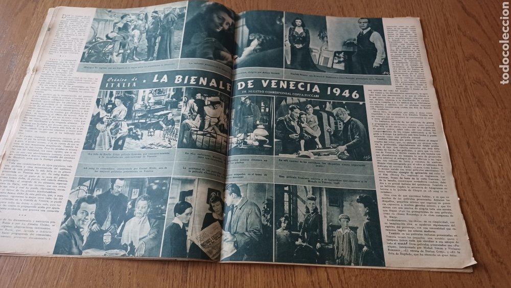 Cine: REVISTA PRIMER PLANO N° 311. AÑO 1946 .MYRNA LOY. - Foto 8 - 264803454