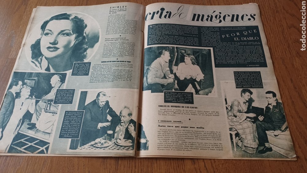 Cine: REVISTA PRIMER PLANO N° 311. AÑO 1946 .MYRNA LOY. - Foto 9 - 264803454