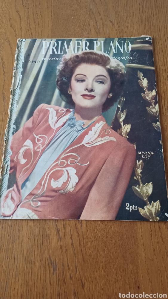 REVISTA PRIMER PLANO N° 311. AÑO 1946 .MYRNA LOY. (Cine - Revistas - Primer plano)
